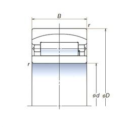 120 mm x 180 mm x 60 mm  NSK 120RUB40 spherical roller bearings