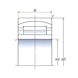 120 mm x 180 mm x 60 mm  NSK 120RUB40APV spherical roller bearings
