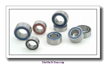 35 mm x 55 mm x 20 mm  IKO NAG 4907UU cylindrical roller bearings