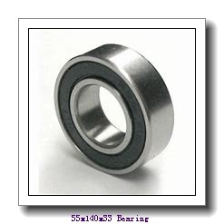 55 mm x 140 mm x 33 mm  Loyal NUP411 cylindrical roller bearings