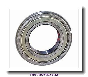 75 mm x 130 mm x 25 mm  FAG 6215-2Z deep groove ball bearings