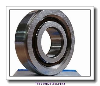 75 mm x 130 mm x 25 mm  Loyal NJ215 cylindrical roller bearings