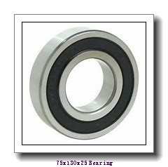75 mm x 130 mm x 25 mm  FAG NU215-E-TVP2 cylindrical roller bearings