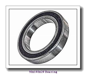 90 mm x 140 mm x 24 mm  FBJ 6018 deep groove ball bearings