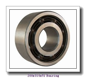 200 mm x 310 mm x 51 mm  ISO NUP1040 cylindrical roller bearings