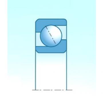 55,000 mm x 140,000 mm x 33,000 mm  NTN 7411BG angular contact ball bearings
