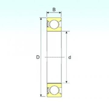 90 mm x 140 mm x 24 mm  ISB 6018-Z deep groove ball bearings