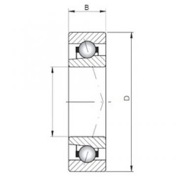 Loyal 7018 CTBP4 angular contact ball bearings