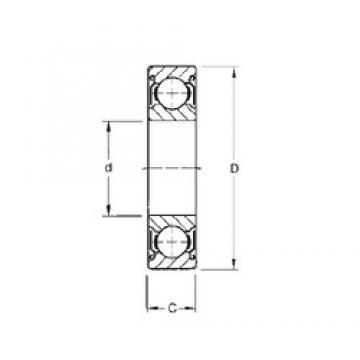 15 mm x 35 mm x 11 mm  Timken 202KDD deep groove ball bearings