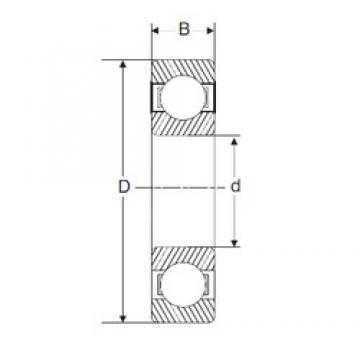 200 mm x 310 mm x 51 mm  SIGMA 6040 deep groove ball bearings
