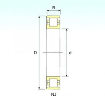 75 mm x 130 mm x 25 mm  ISB N 215 cylindrical roller bearings