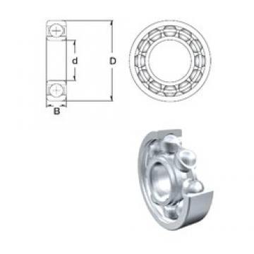 90 mm x 140 mm x 24 mm  ZEN 6018 deep groove ball bearings