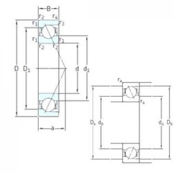 15 mm x 35 mm x 11 mm  SNFA E 215 7CE3 angular contact ball bearings