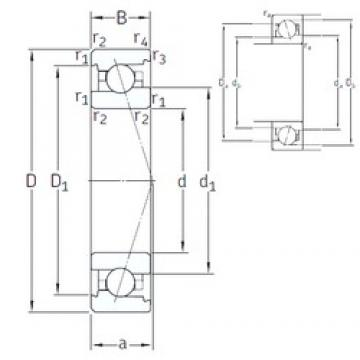 90 mm x 140 mm x 24 mm  SNFA VEX 90 7CE1 angular contact ball bearings