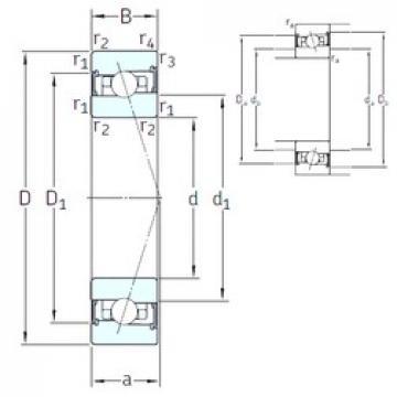 90 mm x 140 mm x 24 mm  SNFA HX90 /S/NS 7CE3 angular contact ball bearings