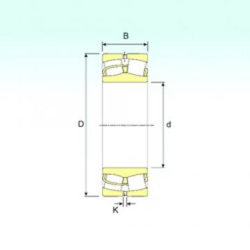 120 mm x 180 mm x 60 mm  ISB 24024 spherical roller bearings
