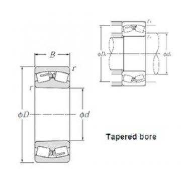 120 mm x 180 mm x 60 mm  NTN 24024BK30 spherical roller bearings