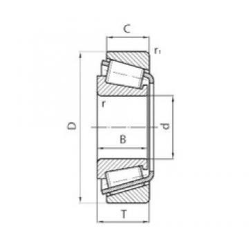 PFI 30312 tapered roller bearings