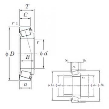 35 mm x 80 mm x 21 mm  KOYO 30307JR-1 tapered roller bearings