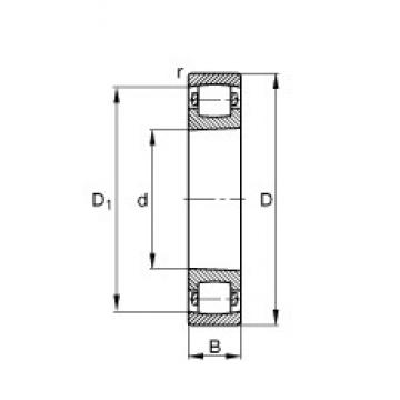 75 mm x 130 mm x 25 mm  FAG 20215-K-TVP-C3 spherical roller bearings