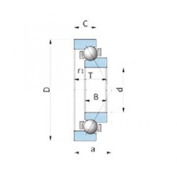 NTN SF1551 angular contact ball bearings
