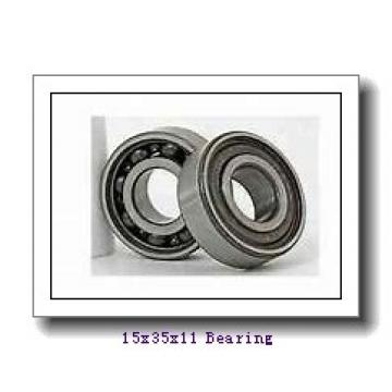 15 mm x 35 mm x 11 mm  Timken 202P deep groove ball bearings