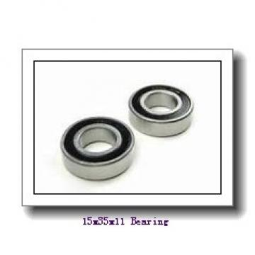 15 mm x 35 mm x 11 mm  NTN 6202LLH deep groove ball bearings