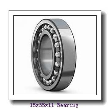 15 mm x 35 mm x 11 mm  ISB 6202-2RS deep groove ball bearings
