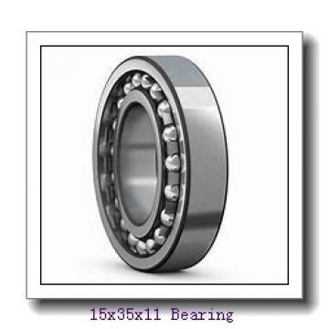 15 mm x 35 mm x 11 mm  NTN 7202UCG/GNP42 angular contact ball bearings