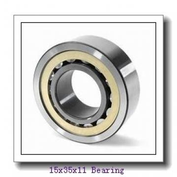 15 mm x 35 mm x 11 mm  NTN 6202LLB deep groove ball bearings