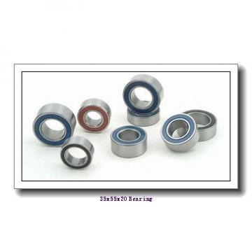 35 mm x 55 mm x 20 mm  IKO NAG 4907UU cylindrical roller bearings