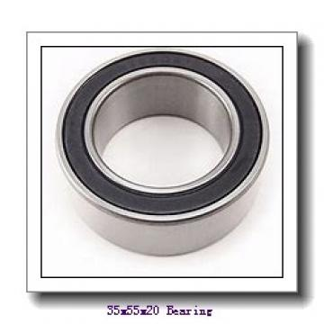 35 mm x 55 mm x 20 mm  SNR ML71907HVDUJ74S angular contact ball bearings