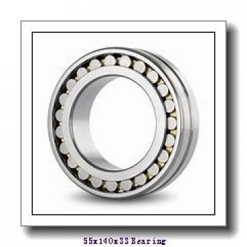 55 mm x 140 mm x 33 mm  FAG NJ411-M1 cylindrical roller bearings