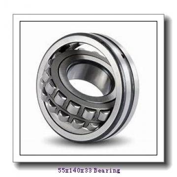 55 mm x 140 mm x 33 mm  NACHI NJ 411 cylindrical roller bearings