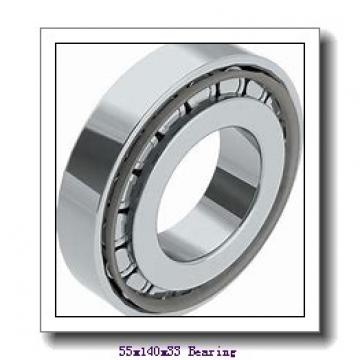 55 mm x 140 mm x 33 mm  ISO NP411 cylindrical roller bearings