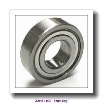 75 mm x 130 mm x 25 mm  Loyal 7215 A angular contact ball bearings