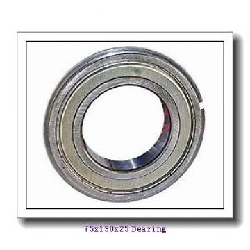 75 mm x 130 mm x 25 mm  SKF 1215K self aligning ball bearings
