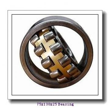 75 mm x 130 mm x 25 mm  Fersa NJ215F/C3 cylindrical roller bearings