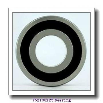 75 mm x 130 mm x 25 mm  NKE 6215-2RSR deep groove ball bearings