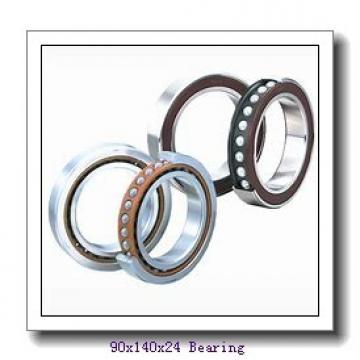 90 mm x 140 mm x 24 mm  FAG HCS7018-C-T-P4S angular contact ball bearings