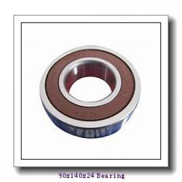 90 mm x 140 mm x 24 mm  Loyal 6018-2RS deep groove ball bearings