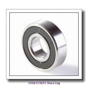 200 mm x 310 mm x 51 mm  KOYO 7040 angular contact ball bearings