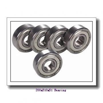 200 mm x 310 mm x 51 mm  NTN 7040CT1B/GNP42 angular contact ball bearings