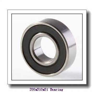 200 mm x 310 mm x 51 mm  NACHI 7040 angular contact ball bearings