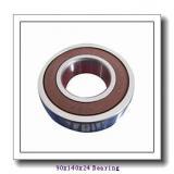 90 mm x 140 mm x 24 mm  FAG B7018-C-T-P4S angular contact ball bearings