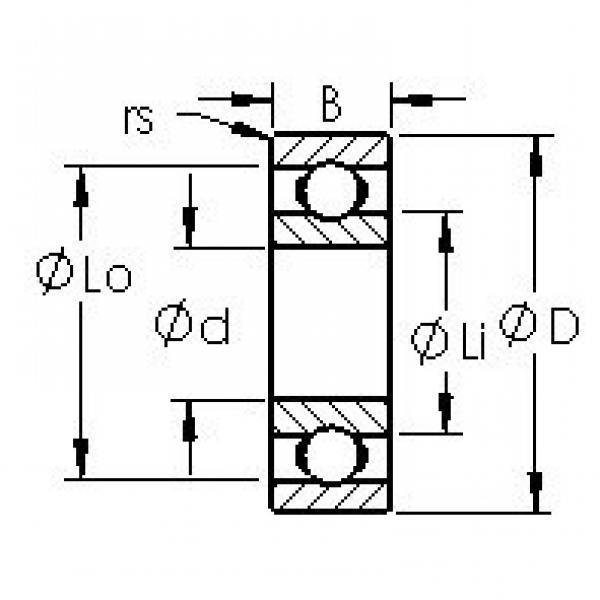 AST 6202 deep groove ball bearings #2 image