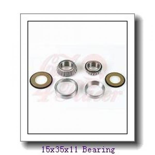 15 mm x 35 mm x 11 mm  ZEN S6202-2RS deep groove ball bearings #1 image