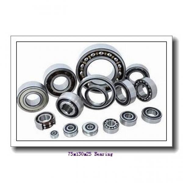 75 mm x 130 mm x 25 mm  KOYO 6215N deep groove ball bearings #1 image
