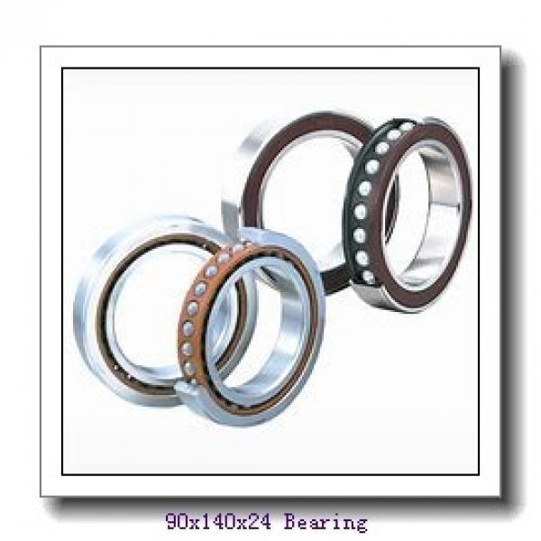 90 mm x 140 mm x 24 mm  NTN 6018LLB deep groove ball bearings #1 image