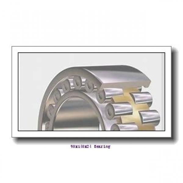 90 mm x 140 mm x 24 mm  KOYO 3NCHAD018CA angular contact ball bearings #1 image